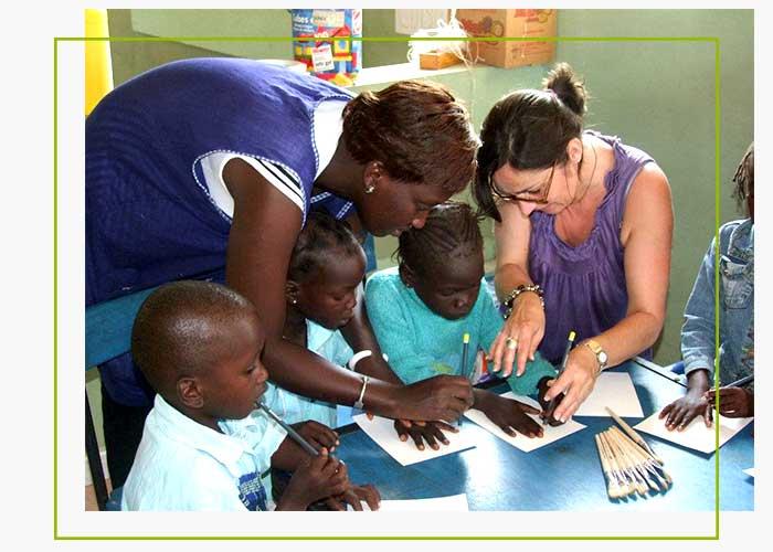 tourisme solidaire au Bent'tenier, Nianing, Sénégal
